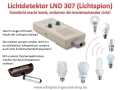 Light Noise Detektor LND 709 (Licht-Detektor) von Dieter Jossner, Medical Electronics