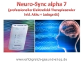 Neuro Sync Alpha 7, NSA 07 von Dieter Jossner, Medical Electronics